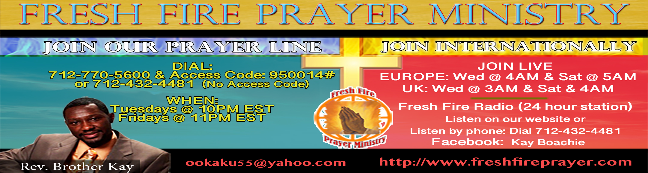 Home- Fresh Fire Prayer Ministry
