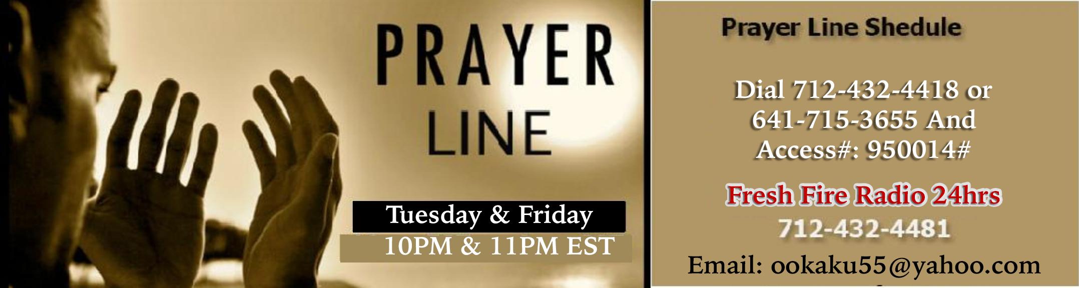 Home- Fresh Fire Prayer Ministry